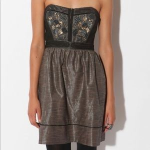 Urban Outfitters Staring at stars milkmaid dress